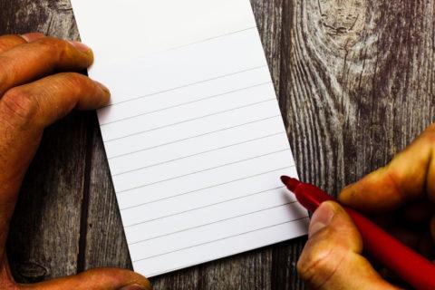 Notizzettel-Testament – Wirksamkeit