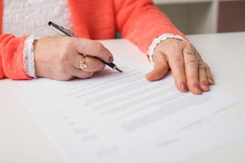 Vermächtnisanordnung im privatschriftlichen Testament - Wirksamkeit